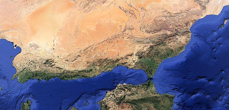 Rift Nord Africain vue Est Ouest 2.jpg