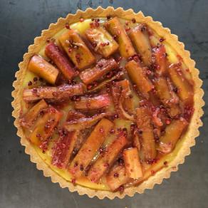 Recipe - Rhubarb Tart