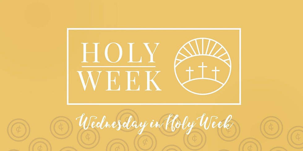 Mar 31st 6:00pm Holy Week Service at Our Saviour Episcopal Church, Lincolnton NC