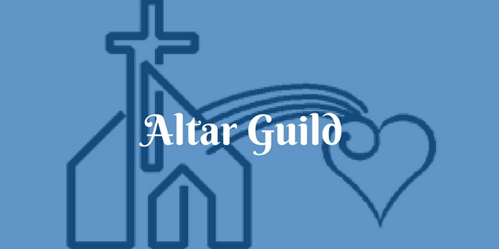 July 25th 9:00am Altar Guild Training
