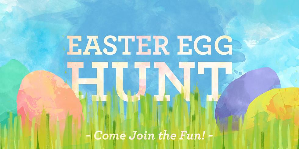 Apr 4th 12:30am Easter Egg Hunt at Our Saviour Episcopal Church, Lincolnton NC