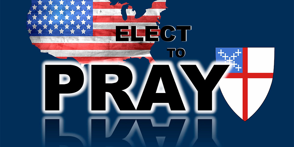 Nov 3rd Election Day Quiet Time for Prayer: From 12:00pm-1:00pm the church will be open to come and lift up prayer.