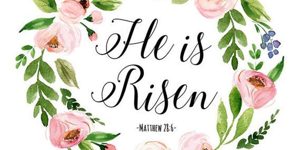 Apr 18th 11:30am Sunday Eucharist at Our Saviour Episcopal Church, Lincolnton NC