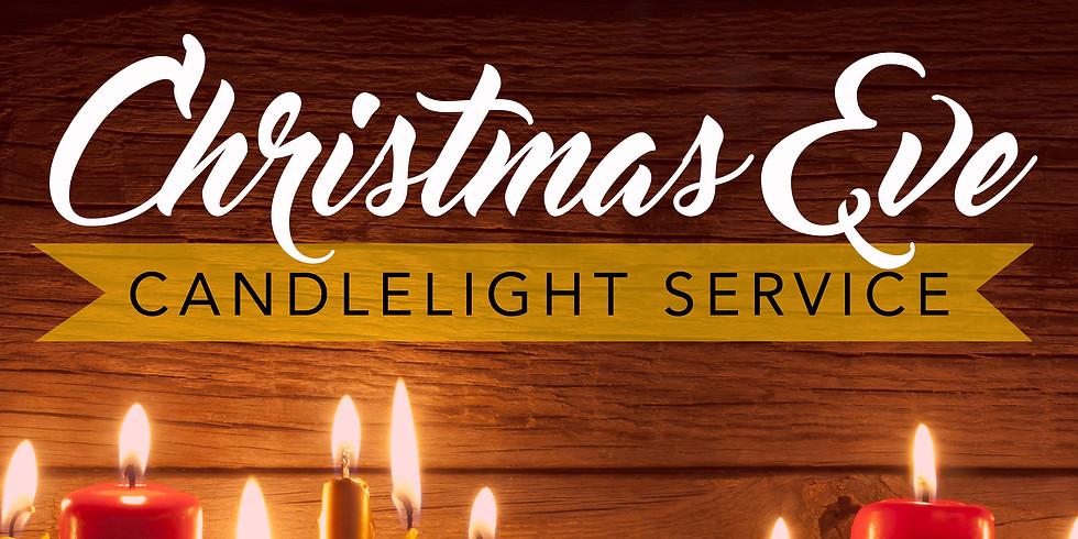Dec 24th 7pm Christmas Eve Service at St. Luke's Episcopal Church