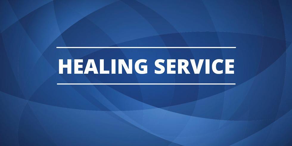 May 4th Noon Healing Prayer Service at St. Luke's - Tuesdays