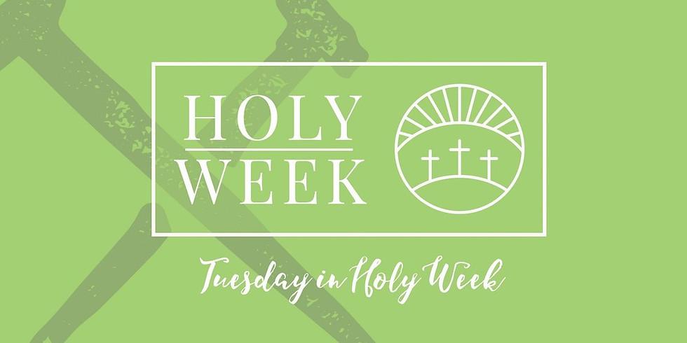 Mar 30th 6:00pm Holy Week Service at St. Luke's Episcopal Church, Lincolnton NC