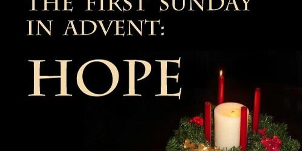 Nov 29th 11:30am Sunday Eucharist at Our Savior Episcopal Church, Lincolnton NC