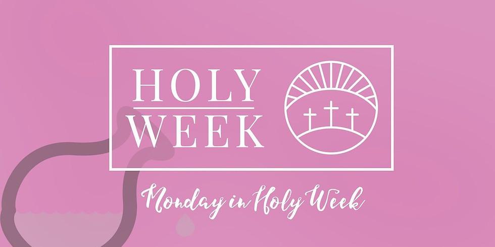 Mar 29th 6:00pm Holy Week Service at St. Luke's Episcopal Church, Lincolnton NC