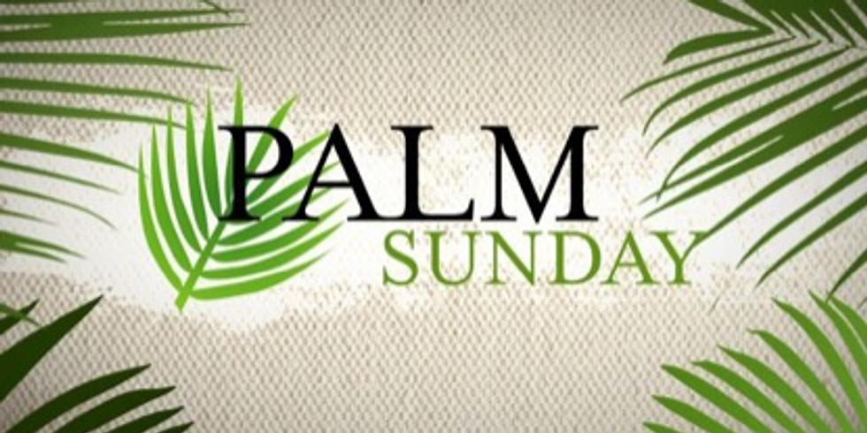 Mar 28th 11:30am Palm Sunday Eucharist at Our Saviour Episcopal Church, Lincolnton NC