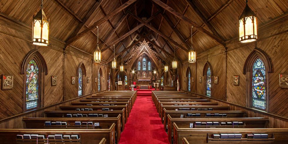 Nov 1st 10:00am Sunday Eucharist at St. Luke's Episcopal Church, Lincolnton NC