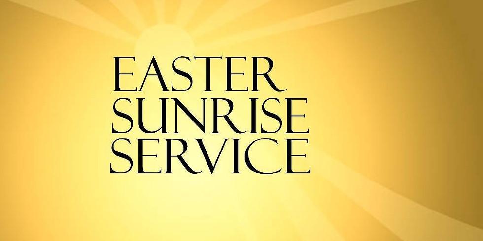 Apr 4th 7:00am Easter Sunrise Service at St. Luke's Episcopal Church, Lincolnton NC