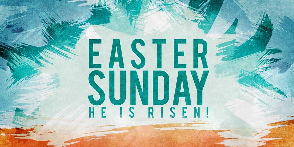 Apr 4th 11:30am Easter Sunday Service at Our Saviour Episcopal Church, Lincolnton NC