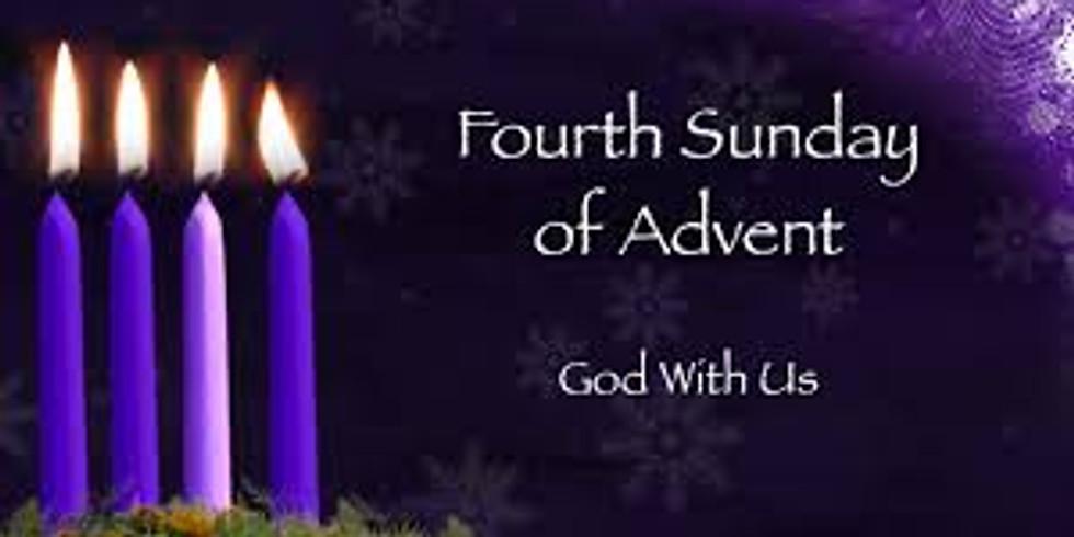 Dec 20th 11:30am Sunday Eucharist at Our Savior Episcopal Church, Lincolnton NC