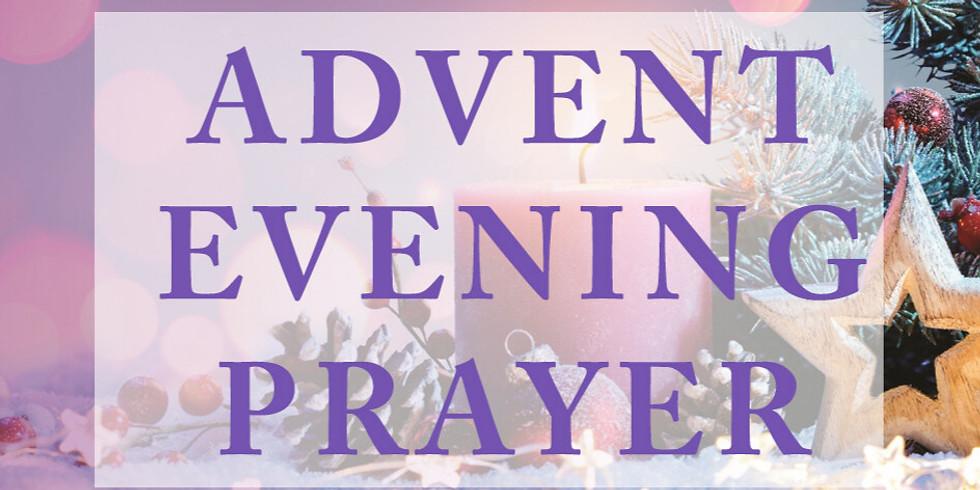 Dec 16th 6:00pm Evening Prayer at Our Saviour Episcopal Church, Lincolnton NC