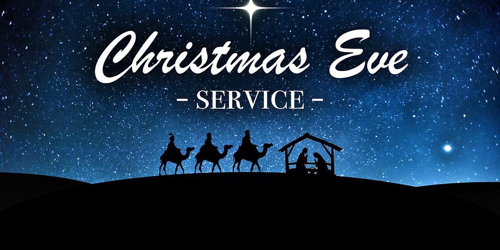 Dec 24th 5pm Christmas Eve Service at St. Luke's Episcopal Church