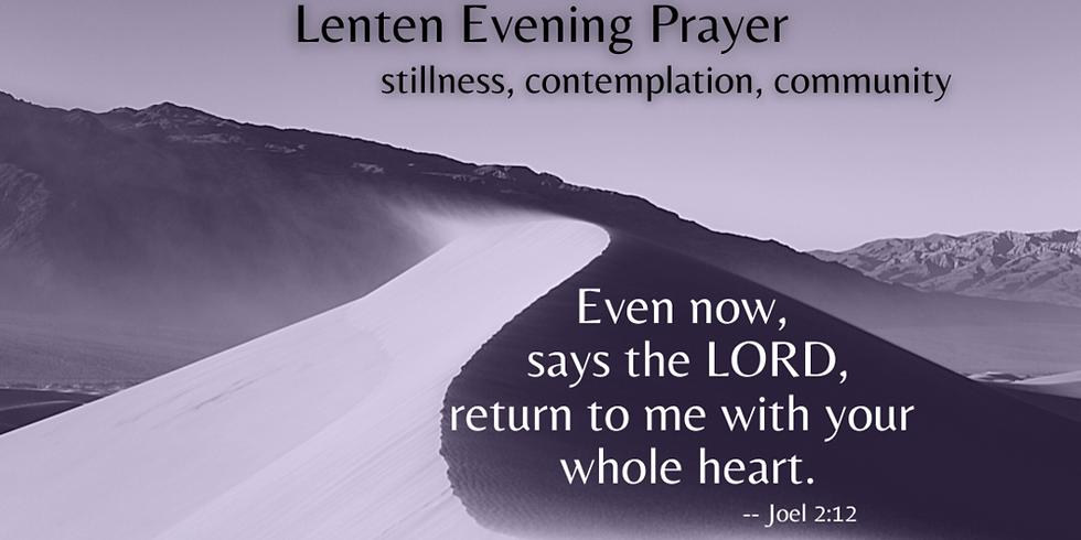 Mar 17th 6:00pm Evening Prayer at Our Saviour Episcopal Church, Lincolnton NC