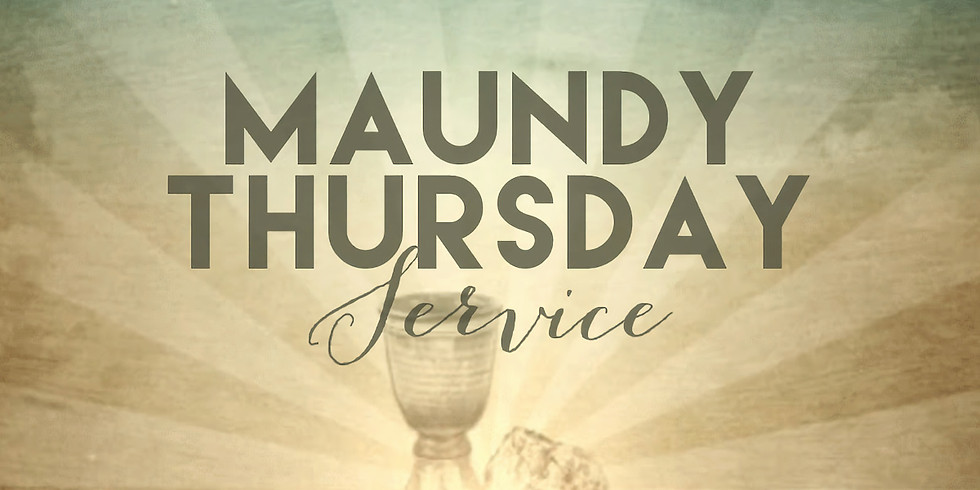 Apr 1st 7:00pm Maundy Thursday Service at St. Luke's Episcopal Church, Lincolnton NC