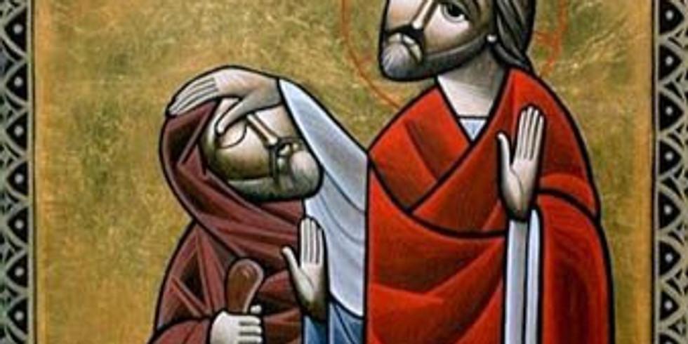 Apr 20th Noon Healing Prayer Service at St. Luke's - Tuesdays