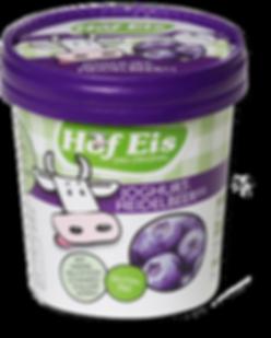 Joghurt-Heidelbeer Eis