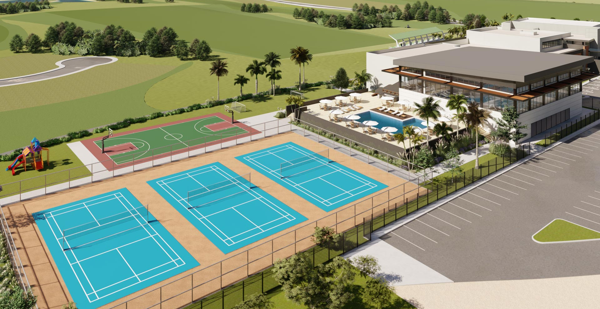 Area deportiva y recreativa