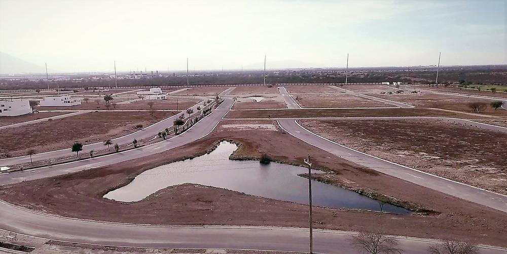 Recientemente se han habilitado tres lagos artificiales en forma de ave