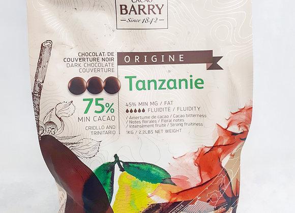 Chocolat d'origine Tanzanie, Cacao Barry