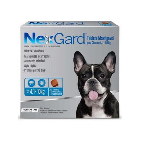 NEXGARD 1.25gr DE 4.1 A 10kg (x1 TABLETA)
