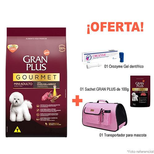 SMARTY PACK PINK GRAN PLUS GOURMET MINI CORDERO & ARROZ 3kg