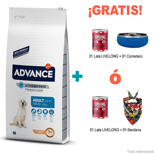 SMARTY PACK ADVANCE ADULTO MAXI 14 kg