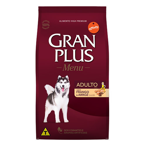 GRAN PLUS MENU PERRO ADULTO SABOR POLLO & ARROZ 15kg
