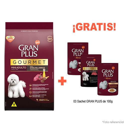 SMARTY PACK GRAN PLUS GOURMET MINI CORDERO & ARROZ 3kg