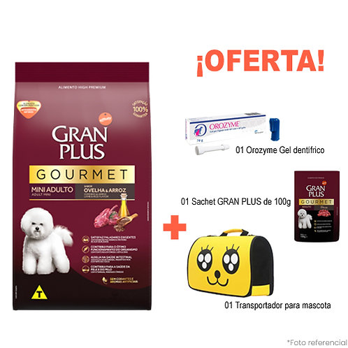 SMARTY PACK YELLOW GRAN PLUS GOURMET MINI CORDERO & ARROZ 10kg