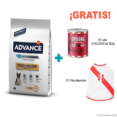 SMARTY PACK ADVANCE BULLDOG FRANCÉS ADULTO 7.5kg