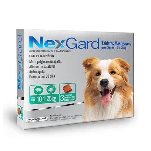 NEXGARD 3gr DE 10.1 A 25kg (x3 TABLETAS)