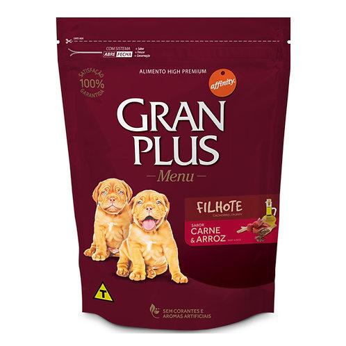 GRAN PLUS MENU CACHORRO SABOR CARNE & ARROZ 3 kg