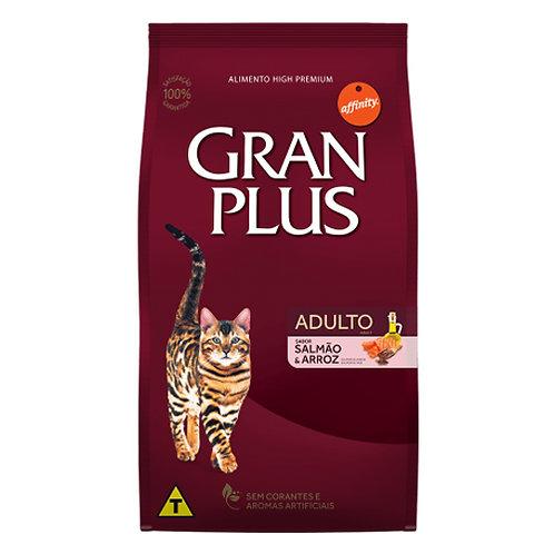 GRAN PLUS GATO ADULTO SABOR SALMON & ARROZ 10 kg
