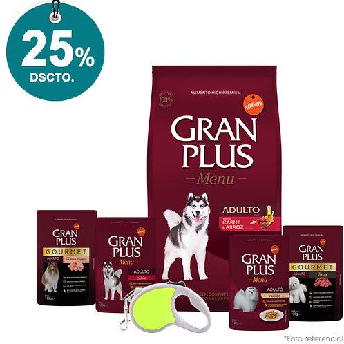 SMARTY PACK GRAN PLUS ADULTO MENU CARNE & ARROZ 20kg