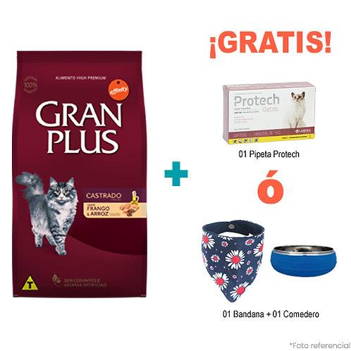 SMARTY PACK GRAN PLUS GATO CASTRADO MENU POLLO & ARROZ 10kg