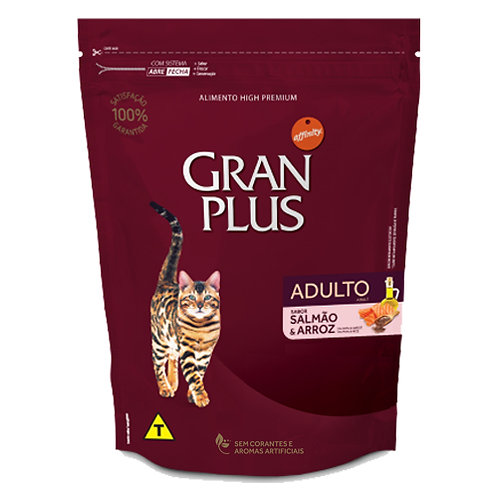 GRAN PLUS GATO ADULTO SABOR SALMON & ARROZ 1 kg