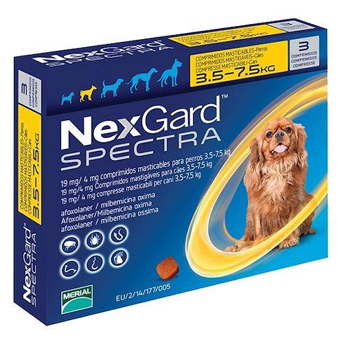 NEXGARD SPECTRA DE 3.6 a 7.5kg (x 1 TABLETA)