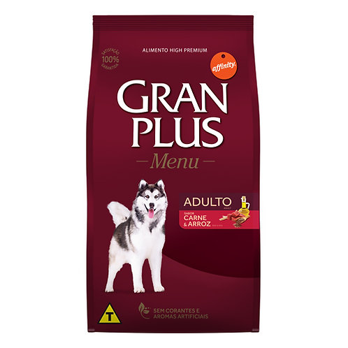 GRAN PLUS MENU PERRO ADULTO SABOR CARNE & ARROZ 20 kg