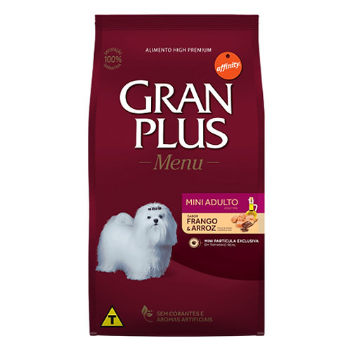 GRAN PLUS MENU PERRO ADULTO MINI SABOR POLLO & ARROZ 10 kg