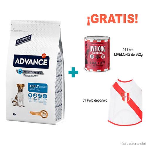 SMARTY PACK ADVANCE ADULTO MINI 7.5kg