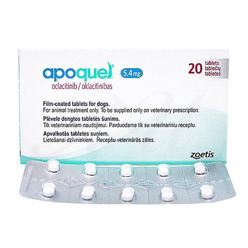 APOQUEL 5.4 mg x 20 TABLETAS