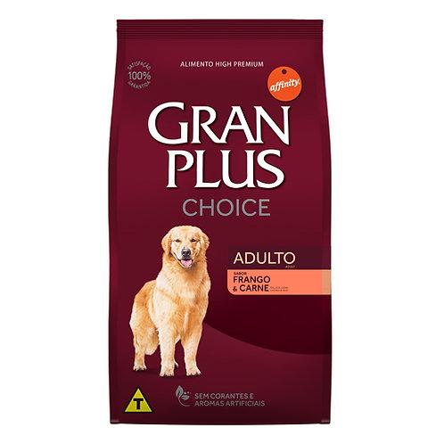 GRAN PLUS CHOICE PERRO ADULTO SABOR POLLO & CARNE 15 kg