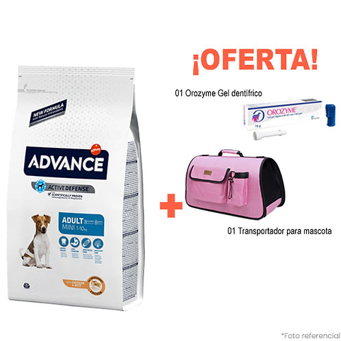 SMARTY PACK PINK ADVANCE ADULTO MINI 3kg