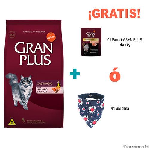 SMARTY PACK GRAN PLUS GATO CASTRADO SALMON & ARROZ 3kg