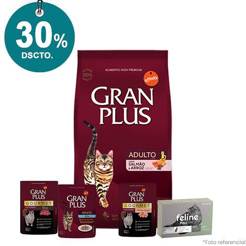 SMARTY PACK GRAN PLUS GATOS MENU SALMON & ARROZ 10kg