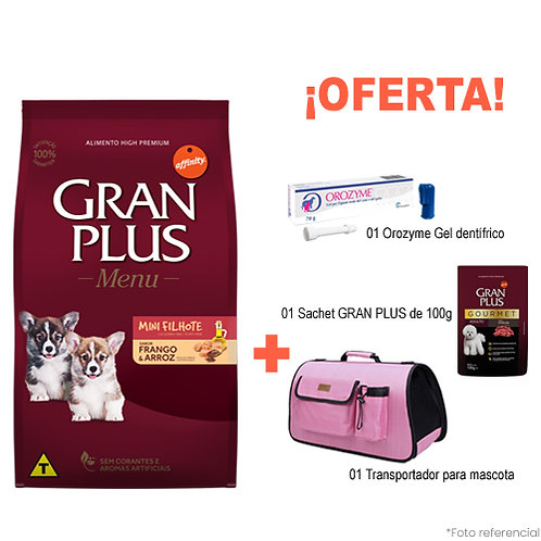 SMARTY PACK PINK GRAN PLUS CACHORRO MINI POLLO & ARROZ 10kg