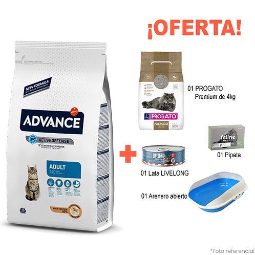 SMARTY PACK BANDEJA ADVANCE GATO ADULTO 3kg
